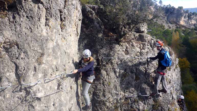 via ferrata madrid