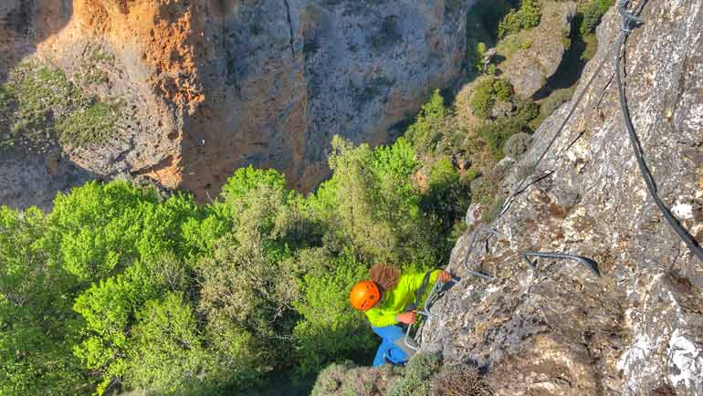 via ferrata en cuenca